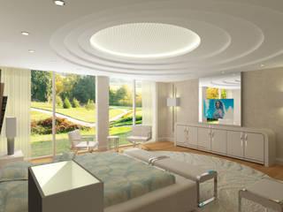 Inan AYDOGAN /IA  Interior Design Office – 15300 Misia Residence:  tarz Yatak Odası