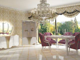 Inan AYDOGAN /IA Interior Design Office Dining roomDressers & sideboards