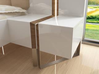Inan AYDOGAN /IA Interior Design Office BedroomBedside tables