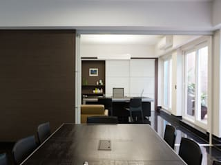 Minimalist study/office by MMEB arquitetos Minimalist