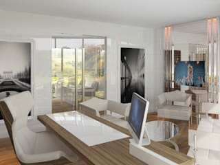 Inan AYDOGAN /IA Interior Design Office Modern office buildings