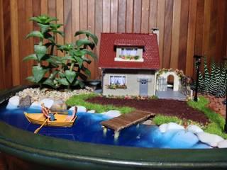 MyHobbyMarket & Peri Bahçem – PB0043 - Göl Kıyısında Ev: minimalist tarz , Minimalist
