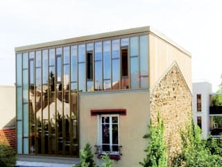 Surélévation d'une maison individuelle Montreuil par aparchitecture