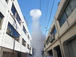 Smoke Ring: Takeshi Ishiguro Creative Labが手掛けた庭です。