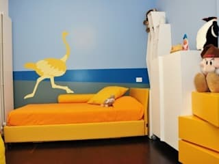 Chambre de style  par Emanuela Orlando Progettazione, Moderne