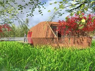 Hotel atypique 4* nature et Spa Hôtels minimalistes par Andriamady Architecte Minimaliste