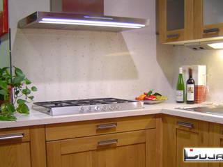 Encimeras de cocina Cocinas de estilo rústico de Lujan Marmoles Rústico