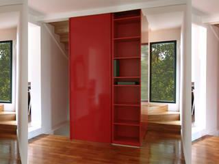 Mobiler intérieur:  de style  par Atelier d'architecture Bm²