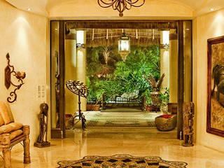 Casa Amore Paredes y pisos de estilo tropical de BR ARQUITECTOS Tropical