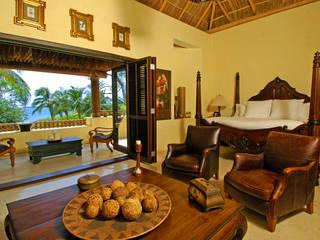 Casa Amore Dormitorios tropicales de BR ARQUITECTOS Tropical