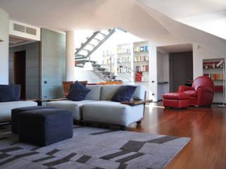 Salon de style  par Emanuela Orlando Progettazione, Moderne