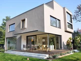 Gartenfassade:  Häuser von Neugebauer Architekten BDA