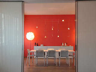 Salle à manger de style  par Emanuela Orlando Progettazione, Moderne