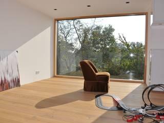 Modern Study Room and Home Office by Neugebauer Architekten BDA Modern