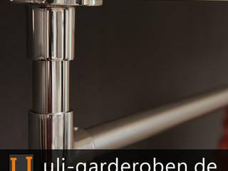 U-Form Garderobenstange :   von ULI Garderoben