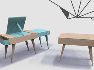 TAD - Avant / Après : Plié / Déplié par Dem Design Scandinave