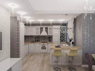 Легкая классика Кухня в классическом стиле от Алиса Ерыкова Художественное проектирование Классический