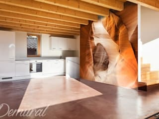 Photo wallpapers in kitchen di Demural Moderno