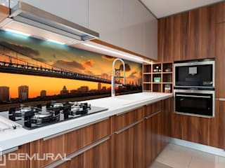 Photo wallpapers in kitchen: modern  by Demural, Modern