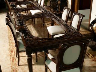 Special curved table 5 meters:  de estilo  de Estilo DECORARCHER