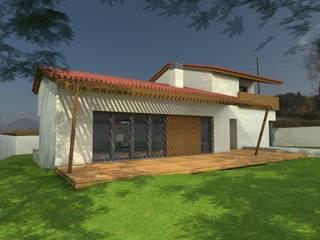 VIVIENDA UNIFAMILIAR EN SEIXALBO Casas de estilo moderno de arquitectura SEN MÁIS Moderno