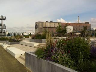 SKW Campusgarten Lutherstadt Wittenberg Industriale Schulen von GFSL clausen landschaftsarchitekten gruen fuer stadt + leben Industrial