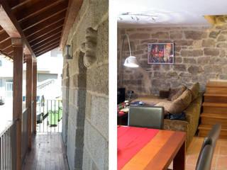REHABILITACIÓN DE VIVIENDA UNIFAMILIAR EN XUNQUEIRA DE ESPADANEDO Casas de estilo rural de arquitectura SEN MÁIS Rural