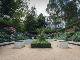 Rosenblüte:  Museen von GFSL clausen landschaftsarchitekten gruen fuer stadt + leben