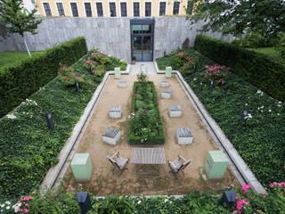 Überblick über den Bosegarten:  Museen von GFSL clausen landschaftsarchitekten gruen fuer stadt + leben