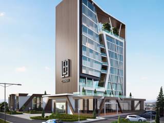 GOOA|GLOBAL OFFICE OF ARCHITECTURE  – Proje Görseli-1:  tarz Ofisler ve Mağazalar