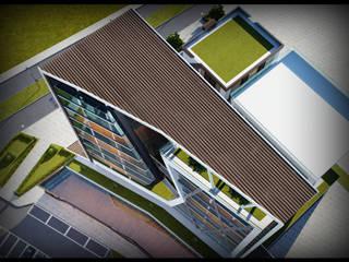 GOOA|GLOBAL OFFICE OF ARCHITECTURE  – Proje Görseli-4:  tarz Ofis Alanları