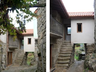 REHABILITACIÓN DE VIVIENDA UNIFAMILIAR Y ANEXOS EN STA. EUFEMIA: Casas de estilo  de arquitectura SEN MÁIS