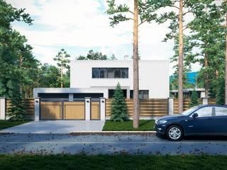 Дом в Омске: Дома в . Автор – Максим Любецкий, Минимализм