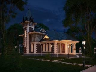 Дом в Викторианском стиле: Дома в . Автор – Максим Любецкий, Колониальный