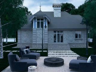 Загородный дом: Дома в . Автор – Максим Любецкий, Колониальный