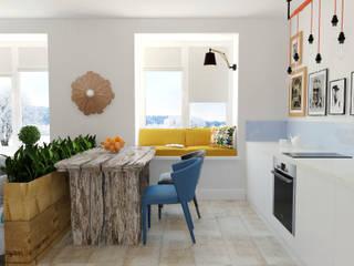 Cucina in stile  di Olesya Parkhomenko, Eclettico