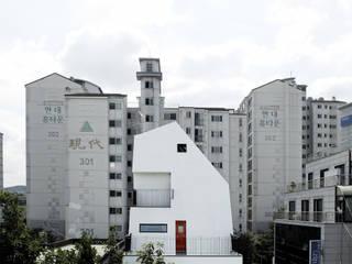 하얀집 White house 스칸디나비아 주택 by designband YOAP 북유럽