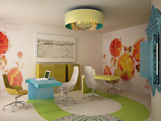 by SHKAF interior architects Eclectic