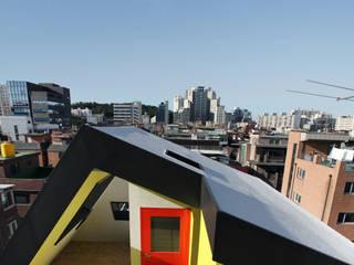하얀집 White house 스칸디나비아 발코니, 베란다 & 테라스 by designband YOAP 북유럽