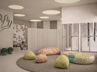 SHKAF interior architects Nursery/kid's room