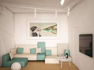 by SHKAF interior architects Minimalist