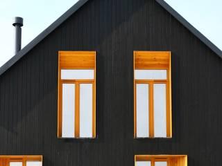 Casas de estilo escandinavo de Snegiri Architects Escandinavo