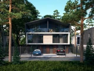 Мой дом: Дома в . Автор – Максим Любецкий, Минимализм