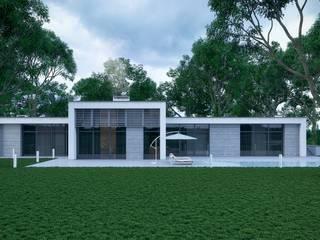 Современный дом: Дома в . Автор – Максим Любецкий, Минимализм