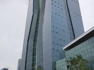 부산은행 본점: (주)일신설계종합건축사사무소의  회의실,모던
