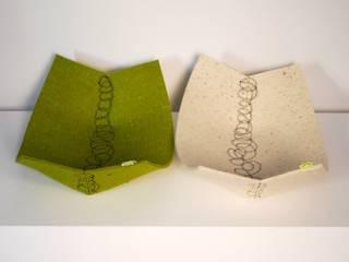 embroidery felt basket:  in stile  di raffaella brunzin handmade
