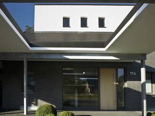 Eingang: moderne Häuser von .rott .schirmer .partner