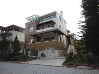 DerganÇARPAR Mimarlık Casas de estilo mediterráneo