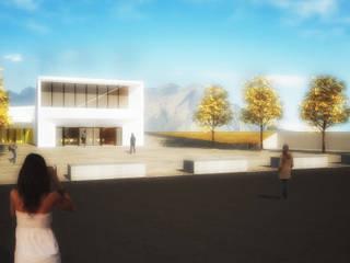 Palais des congrès modernes par Team Replan - Bortoluzzi Associati Moderne