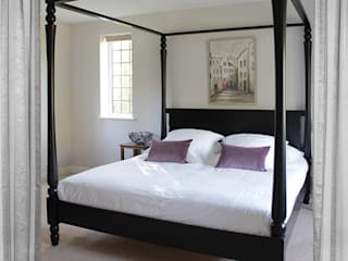Goldsborough Four Poster Canopy Bed:   by TurnPost